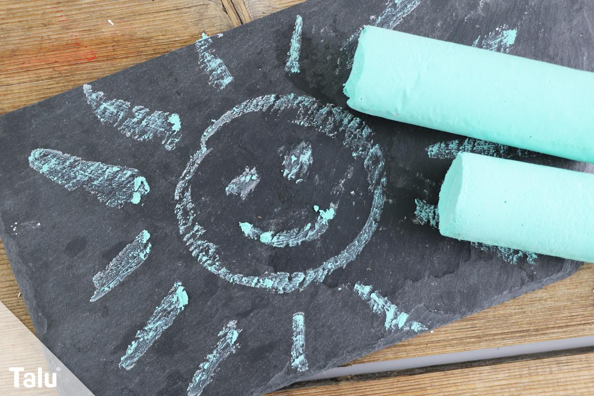 kreide selber machen diy anleitung mit und ohne gips. Black Bedroom Furniture Sets. Home Design Ideas