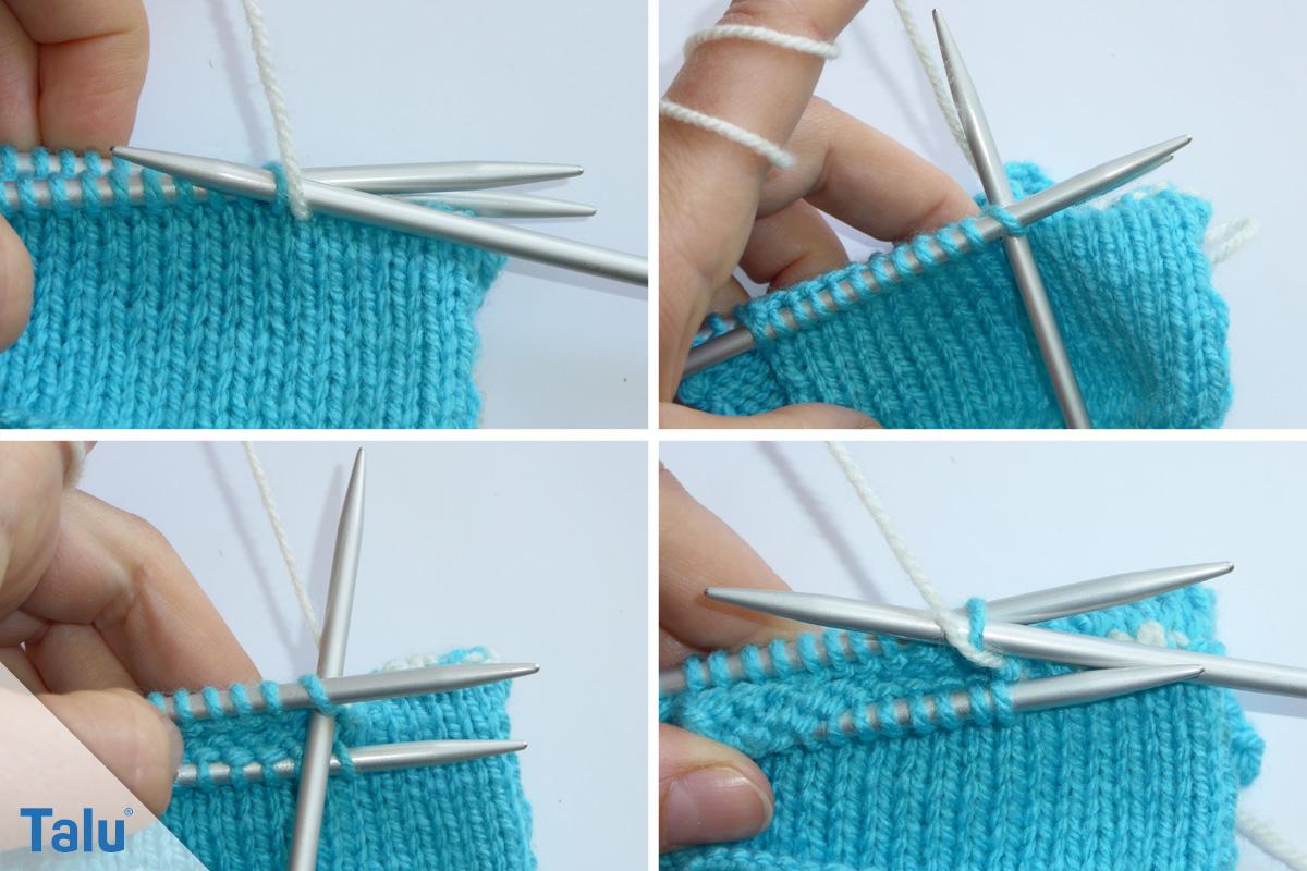 Strickteile verbinden