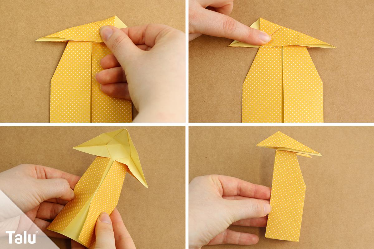 Papierfuchs falten