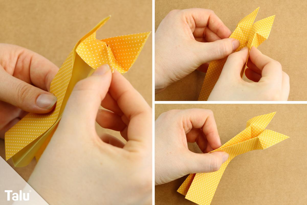 Origami-Fuchs falten
