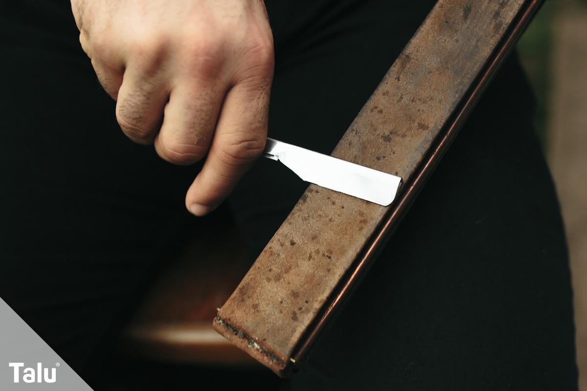 Sehr Rasiermesser schärfen - Anleitung und Tipps - Talu.de FA06