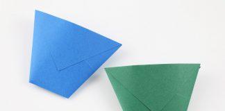 Origami Becher falten