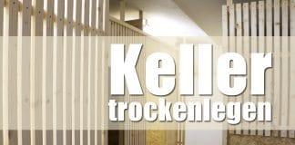 Keller trockenlegen