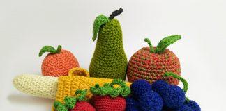 Obst häkeln