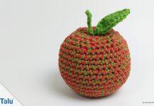 Apfel häkeln