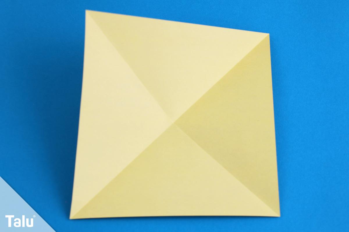 Origami Krebs falten