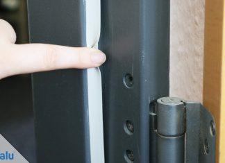 Türen abdichten