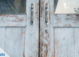 Türen lackieren