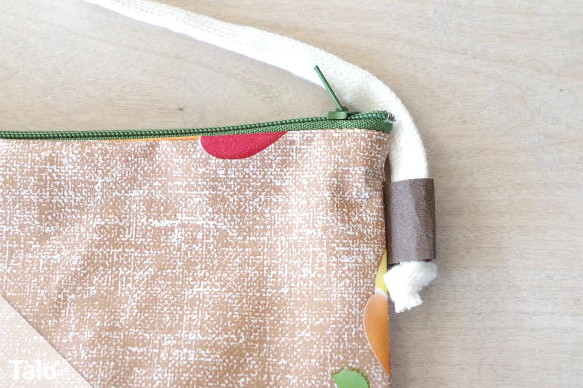 Tasche aus Wachstuch