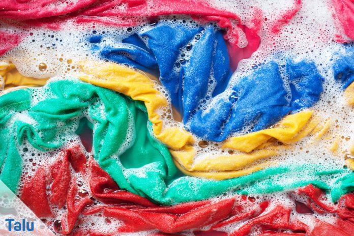 Wäsche färben