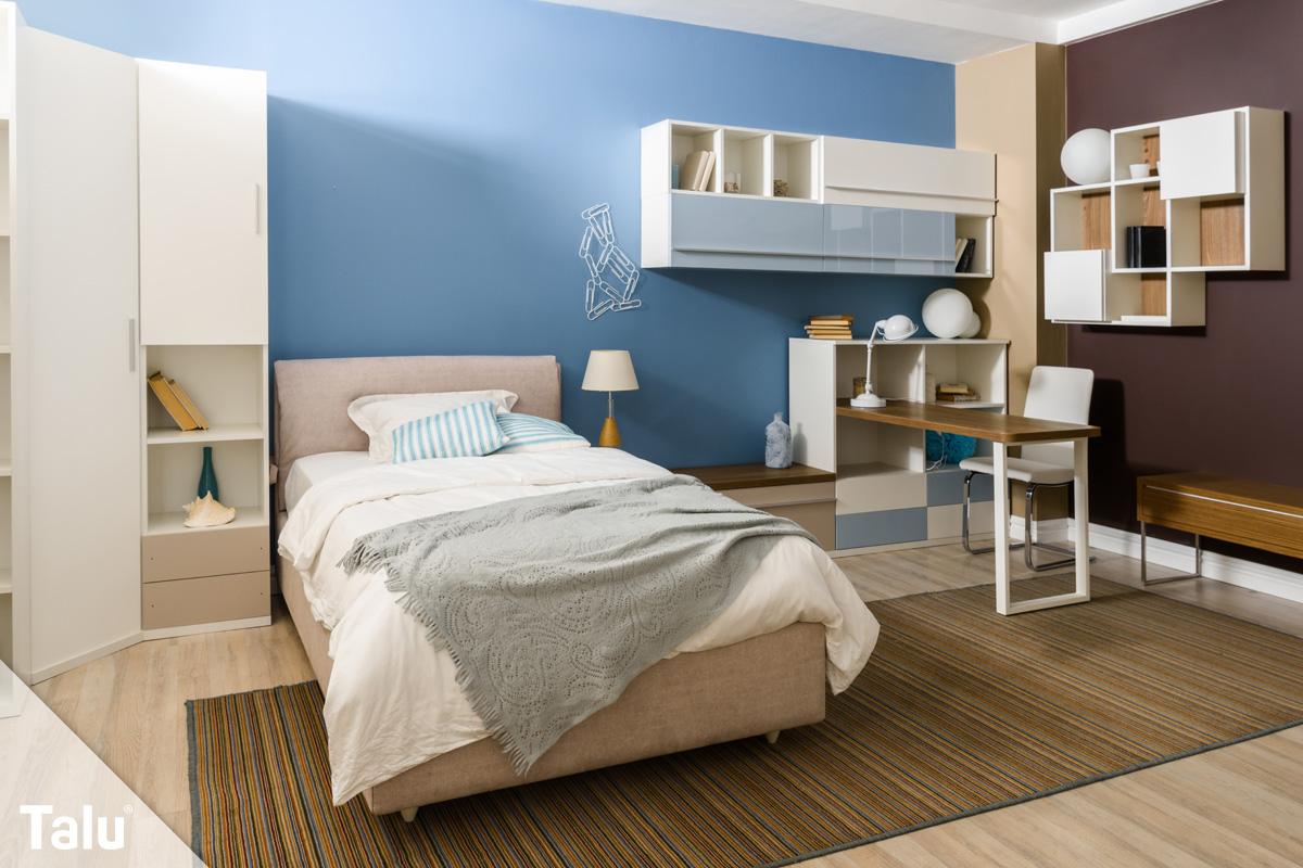 wandgestaltung mit farbe farbideen kombinieren wirkung. Black Bedroom Furniture Sets. Home Design Ideas