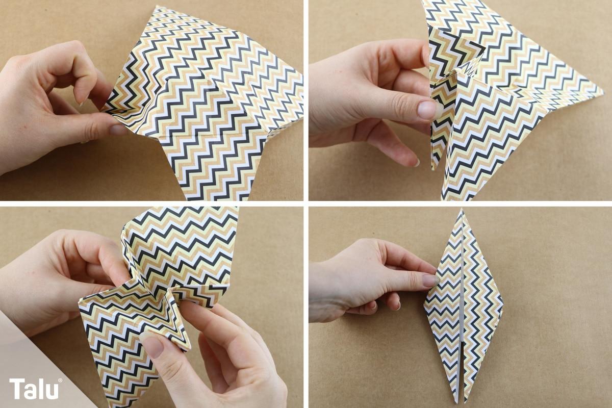 Origami-Giraffe falten