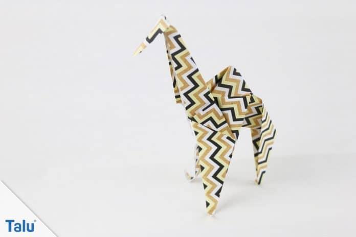 Origami Giraffe falten