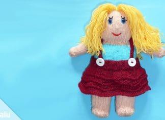 Puppe stricken