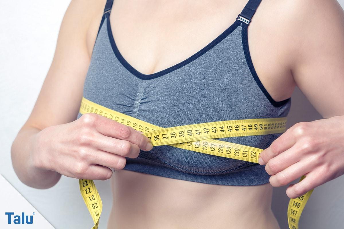 Beispiel körbchengröße c Bikini Größentabelle