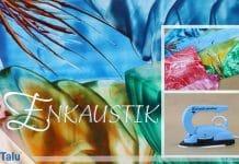 Enkaustik, Anleitung und Technik für Wachs-Malerei
