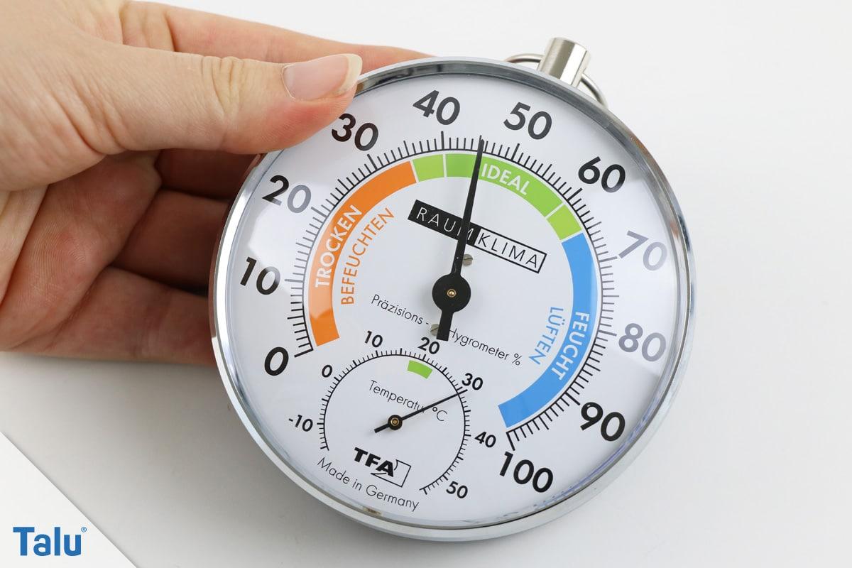 Hygrometer kalibrieren