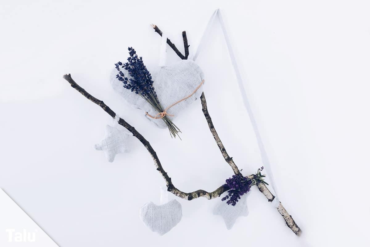 Lavendelkissen nähen