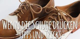Schuhe drücken