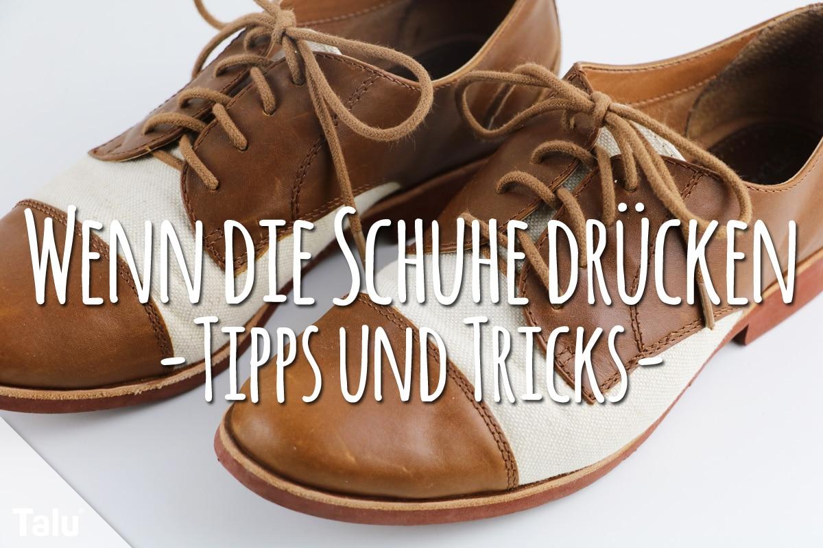 Schuhe drücken: mit diesen Hausmitteln werden sie weich