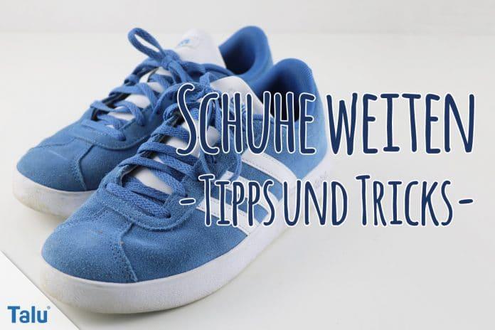 Top Schuhe weiten - Anleitung für Synthetik-, Stoff/Textil-Schuhe IR18