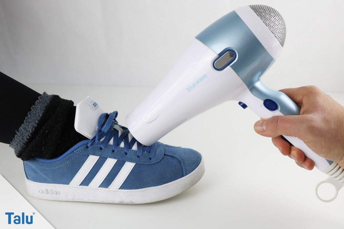 Bekannt Schuhe weiten - Anleitung für Synthetik-, Stoff/Textil-Schuhe ZB75