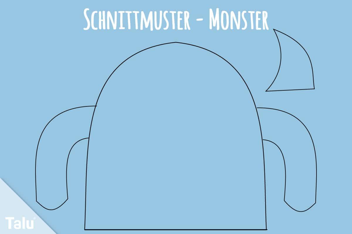 Schnittmuster für Monster