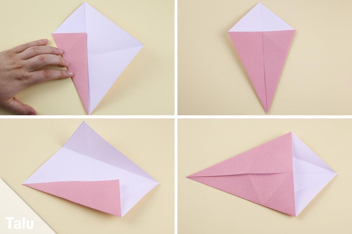 Origami-Maus falten