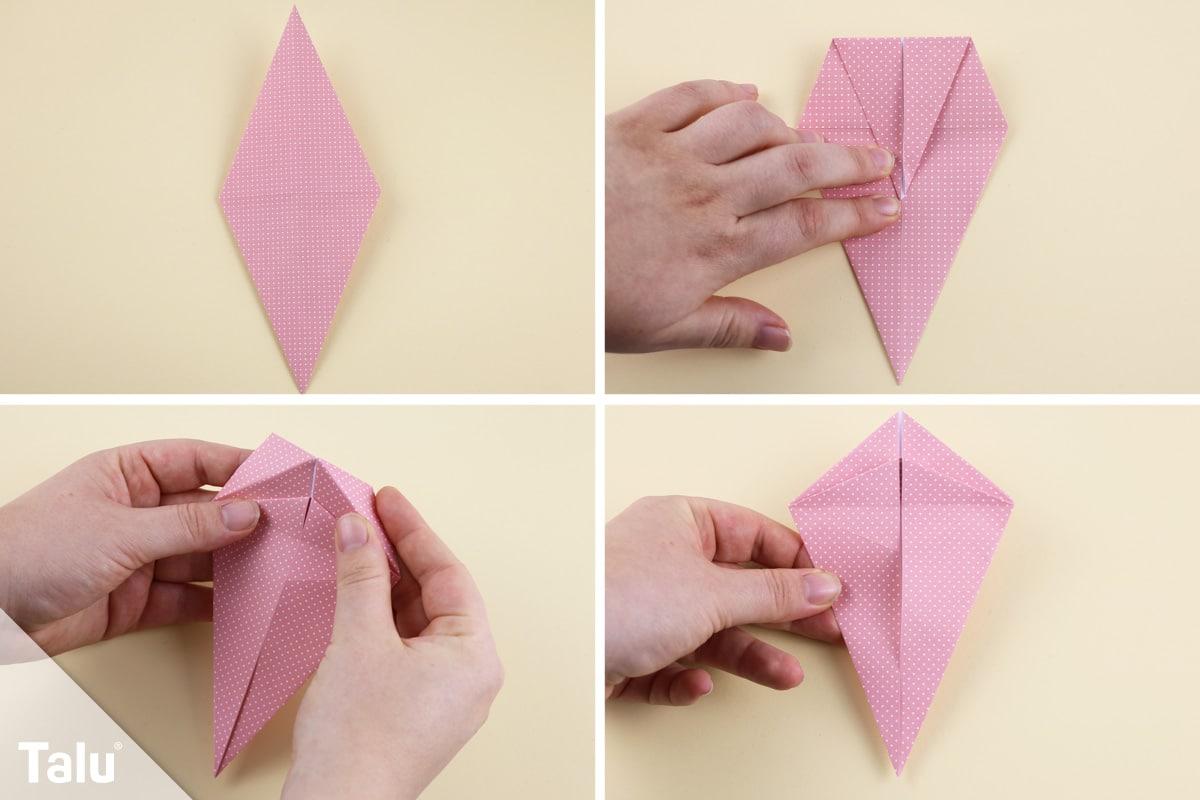 Origami Maus falten