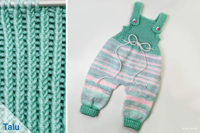 Strampler Stricken Kostenlose Strickanleitung Für Baby Overall
