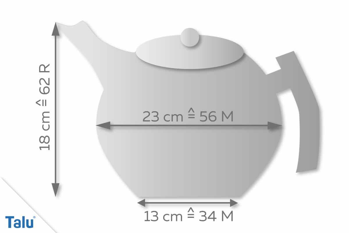Teekannenwärmer Skizze 1