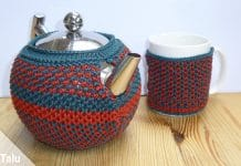 Teekannenwärmer stricken - Anleitung