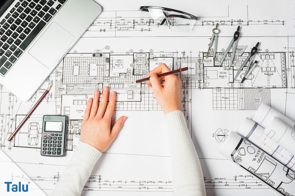 Was kostet ein Architekt? Kosten für EFH-Neubau- und Umbau - Talu.de