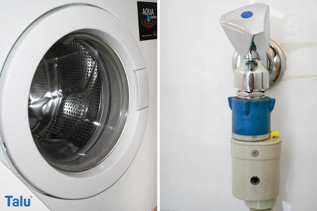 Aquastop nachrüsten, Wasserzufuhr mit Aquastop für Waschmaschine