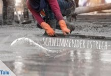 Schwimmender Estrich, Definition