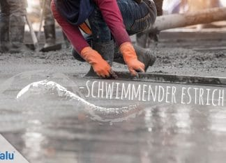 Schwimmender Estrich, Definition