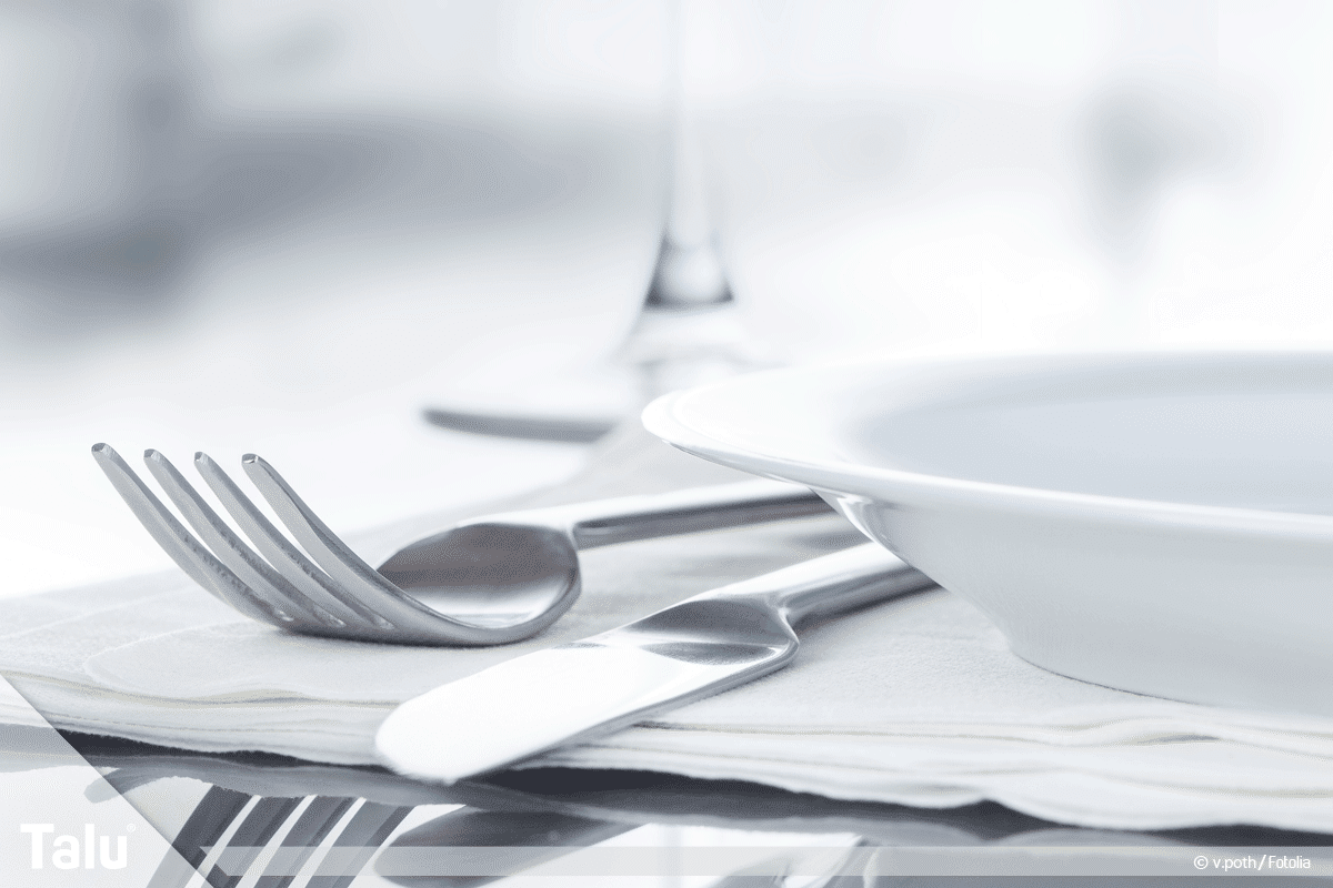 Geschirrspüler, Schlieren und Beläge, am Besteck