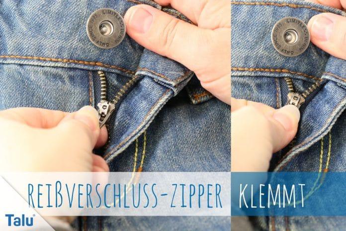 Reißverschluss-Zipper klemmt, was hilft