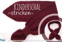 Kinderschal stricken – kostenlose Anleitung