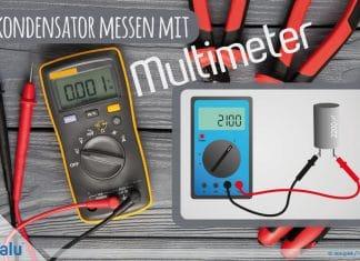 Kondensator messen mit Multimeter, DIY-Anleitung