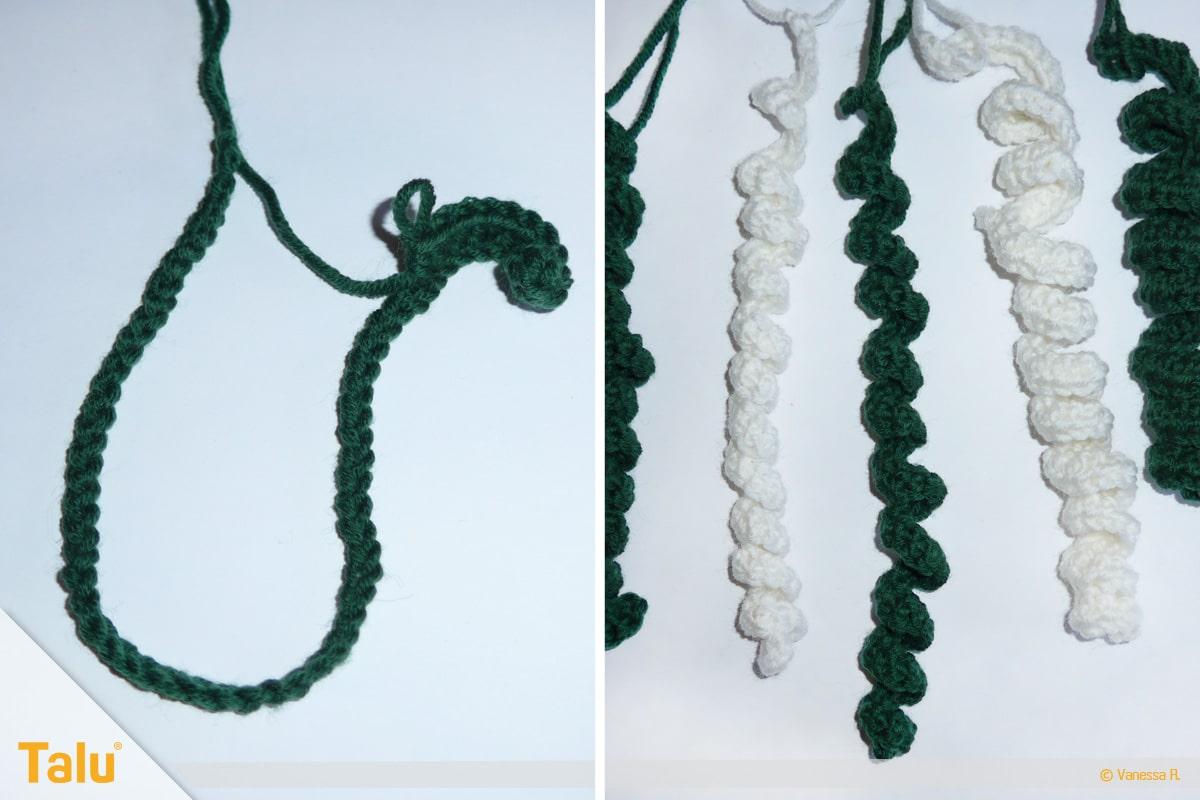 Denizanası kroşe, denizanası tentacles kroşe