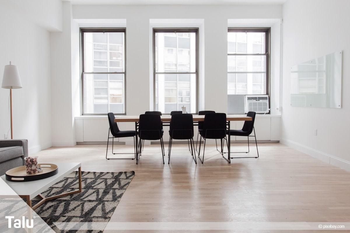 Vinylboden verlegen, Vinylboden in Wohnräumen