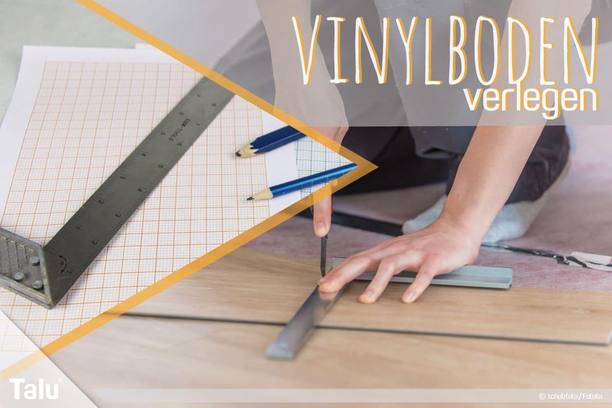 Hervorragend Vinylboden verlegen – Anleitung und Tipps - Talu.de WB09