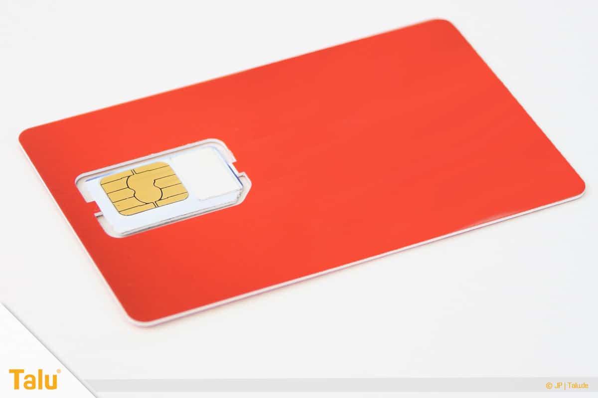Nano/Micro SIM-Karte zuschneiden, vorgestanzte SIM-Karte