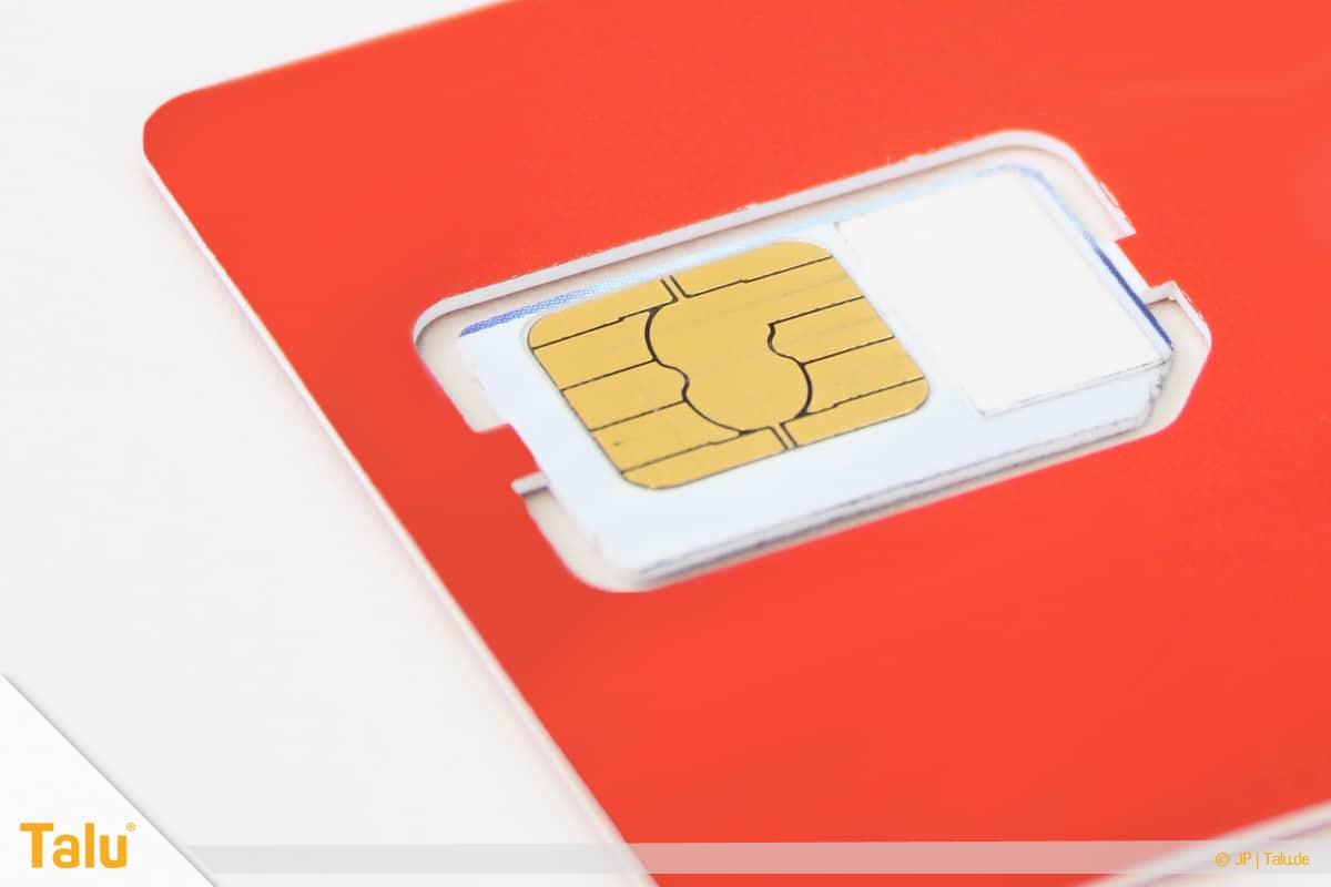 Nano/Micro SIM-Karte zuschneiden, Zuschneiden vorbereiten