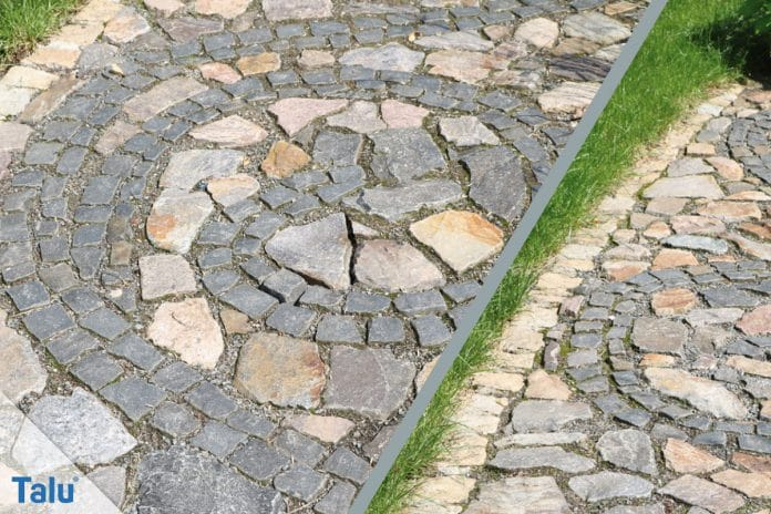 Pflaster Verlegen Diy Gartenweg Aus Pflastersteinen Talu De