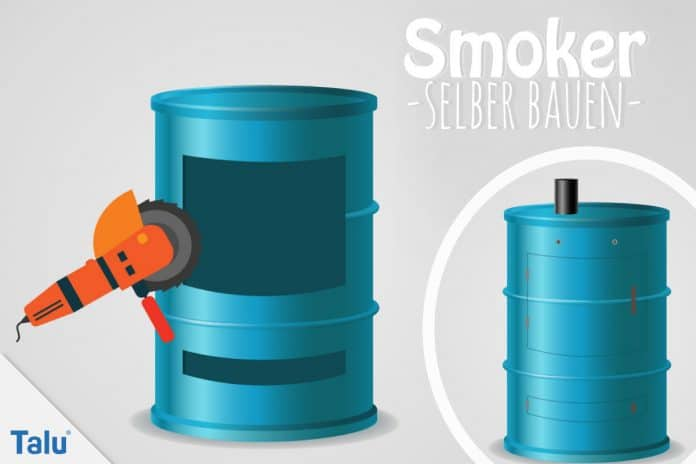 Smoker selber bauen, Bauanleitung