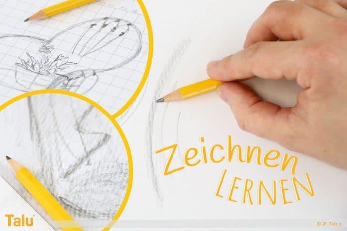 Zeichnen lernen für Anfänger, Tipps & Tricks