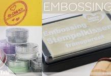 Embossing, Grundlagen und Technik