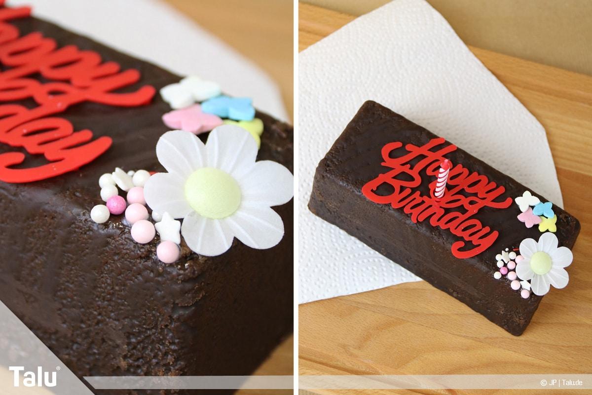 Essbaren Kleber selber machen, Zuckerkleber, Kuchen dekorieren